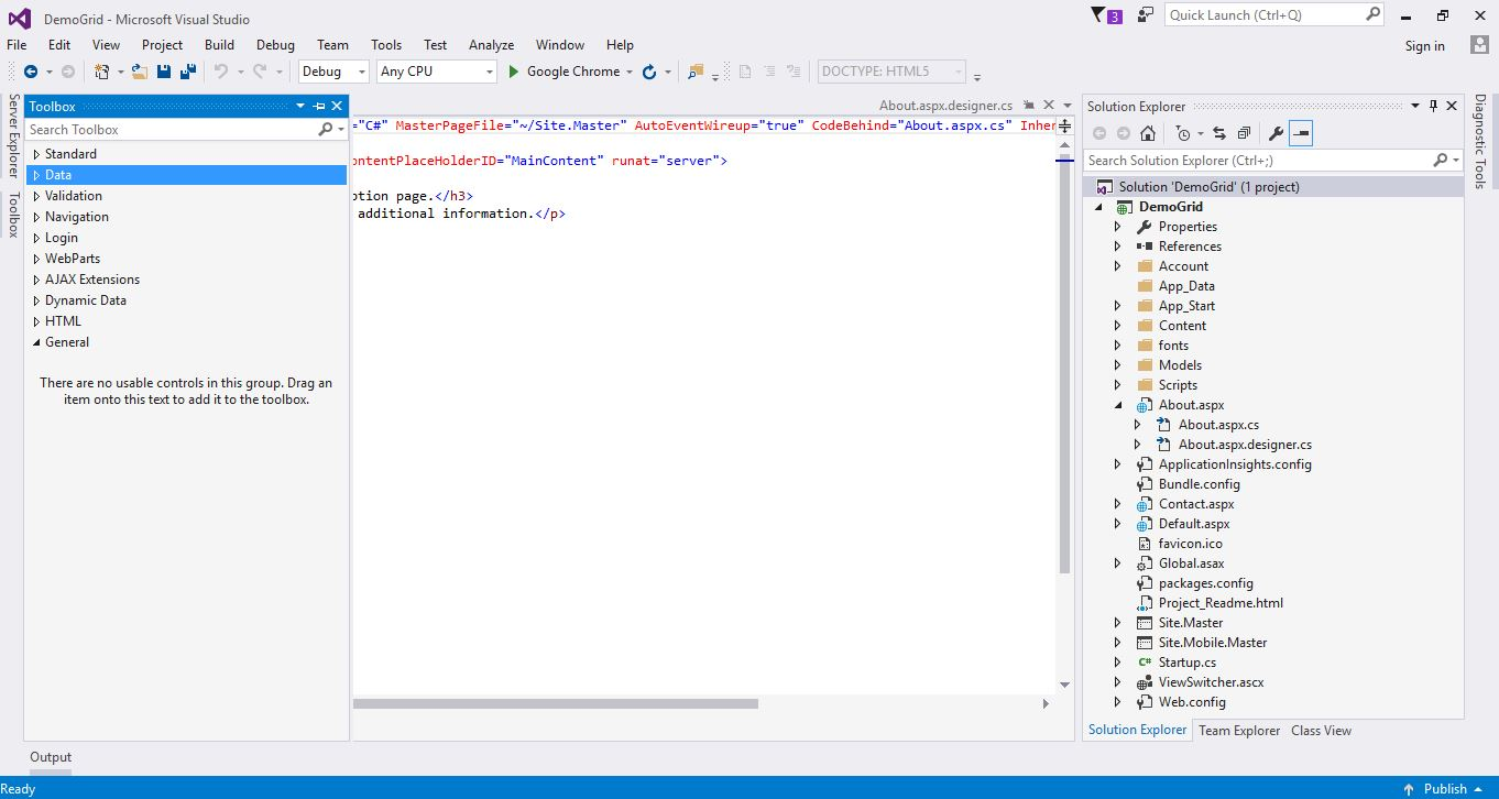 Display Data in ASP Net GridView Control